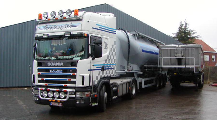 Desimpel transport bulktransport in België en Nederland