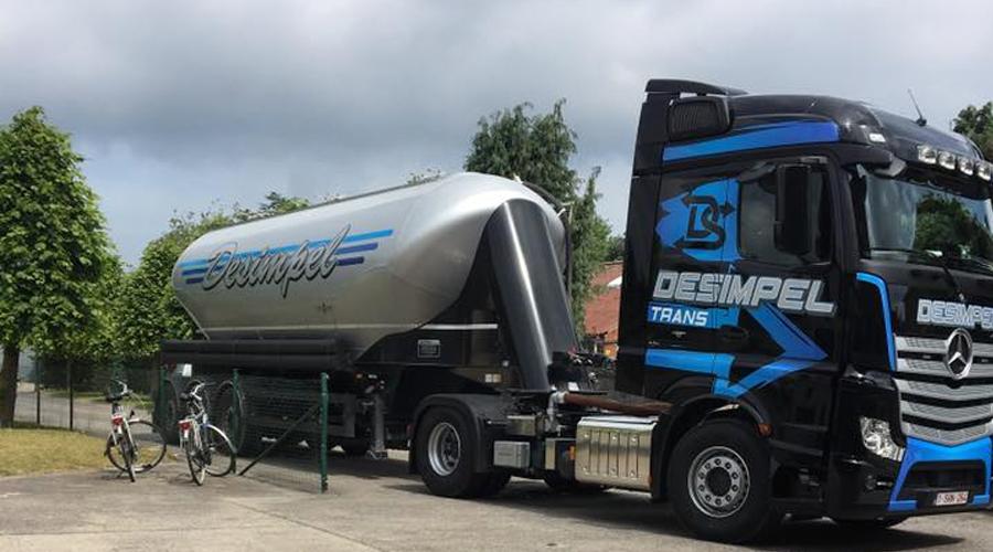 Transportbedrijf Desimpel Bulktransport België en Nederland