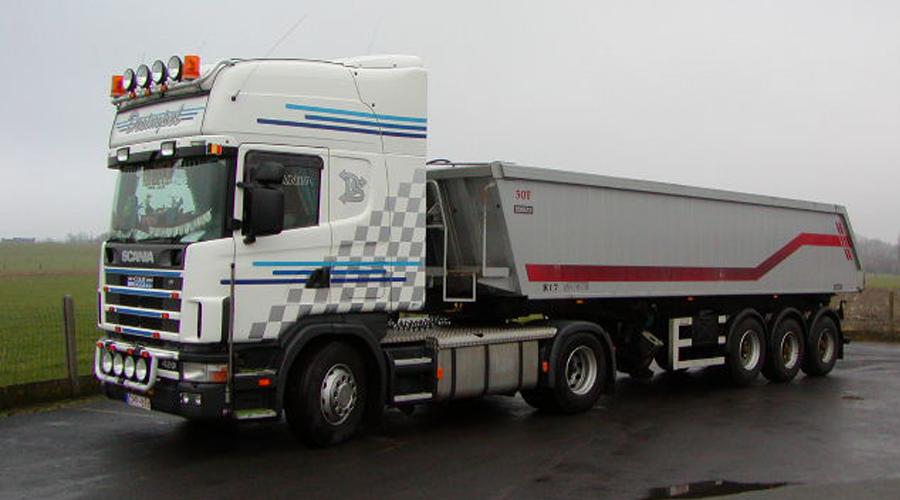 Transportbedrijf Desimpel Kippertransport België en Nederland
